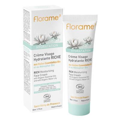 Crème Visage Hydratante RICHE - Florame - Visage