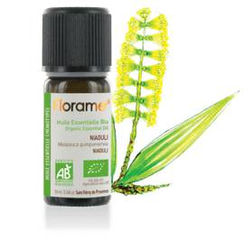 Organic Niaouli essential oil - Florame - Massage and relaxation