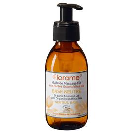 Neutral Base Massage Oil - Florame - Massage and relaxation