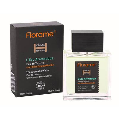 Eau de Toilette L'Eau Aromatique - Homme for men - Florame - Parfums et eaux de toilette