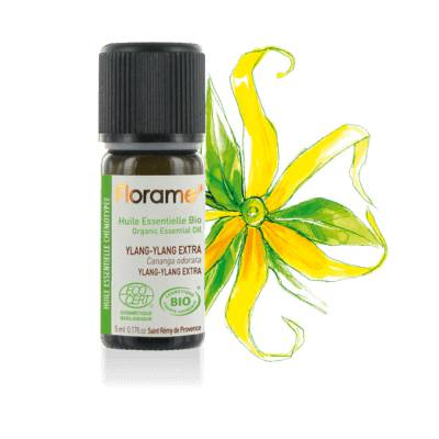 Huile Essentielle d'Ylang-ylang extra - Florame - Massage and relaxation