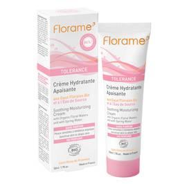 Crème hydratante apaisante - Florame - Visage