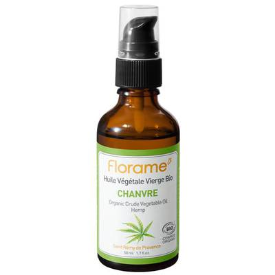 Hemp Crude Vegetable Oil - Florame - Massage and relaxation