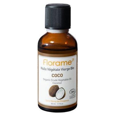 Huile Végétale Vierge Coco - Florame - Massage et détente
