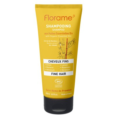 Shampooing Cheveux fins - Florame - Cheveux