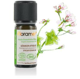 Organic essential oil African Geraniuim - Florame - Massage and relaxation