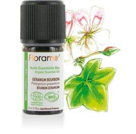 image produit Organic essential oil bourbon geranium