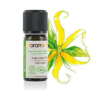Organic essential oil Ylang-Ylang 1st - Florame - Massage and relaxation