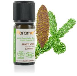 Organic essential oil Black spruce - Florame - Massage and relaxation