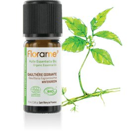 image produit Organic essential oil wintergreen