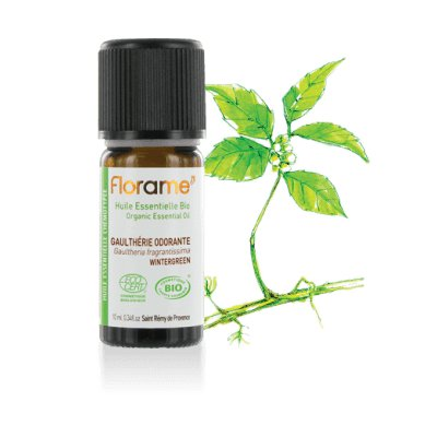 Huile essentielle Gaulthérie odorante - Florame - Massage et détente