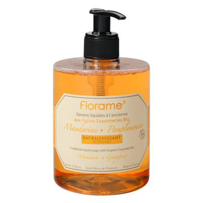 Mandarin/Grapefruit Traditional Liquid Soap - Florame - Hygiene