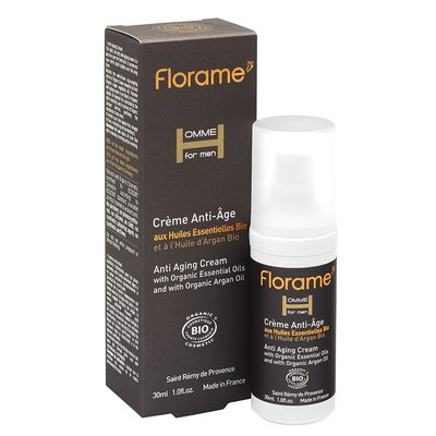 Anti Aging Cream - Homme for Men - Florame