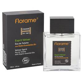 Eau de Toilette Esprit Vetiver - Homme for Men - Florame - Parfums et eaux de toilette