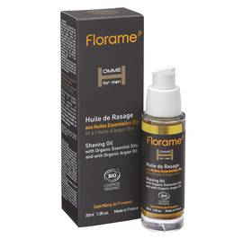 Huile de rasage - Homme for Men - Florame