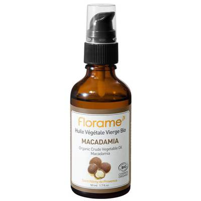 Macadamia Crude Vegetable Oil - Florame - Massage and relaxation