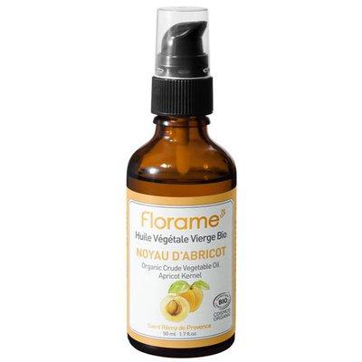 Huile Végétale Vierge Noyau d'Abricot - Florame - Massage et détente