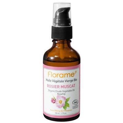 Huile Végétale Vierge Rosier Muscat - Florame - Massage et détente