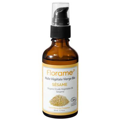 Sesame Crude Vegetable Oil - Florame - Massage and relaxation