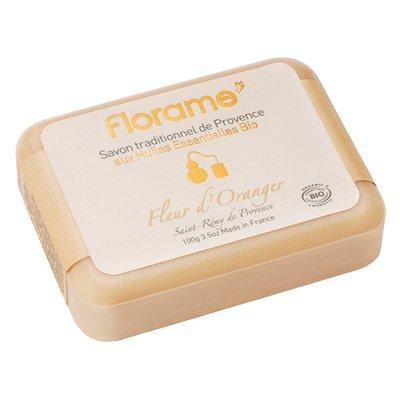 Savon traditionnel de Provence Fleur d'Oranger - Florame - Hygiène