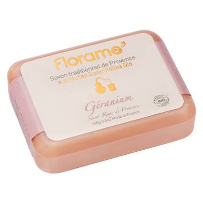 Savon traditionnel de Provence Géranium - Florame - Hygiène