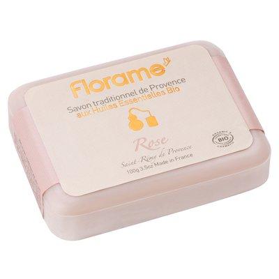 Savon traditionnel de Provence Rose - Florame - Hygiène