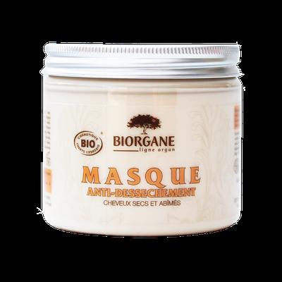 Masque capillaire nourrissant - Ligne Argan - Biorgane - Cheveux