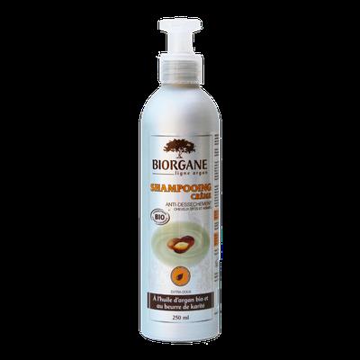 Shampooing crème - Ligne Argan - Biorgane - Cheveux