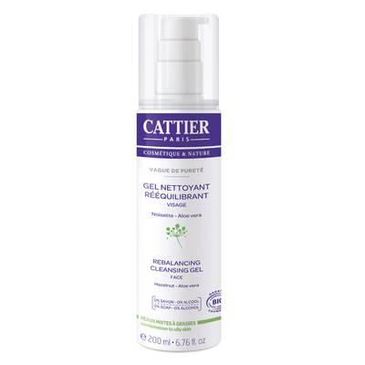 Masque gel rééquilibrant - Sorbet de Beauté - CATTIER - Visage