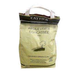 Argile Verte Concassee - Illite - CATTIER - Visage - Cheveux - Corps
