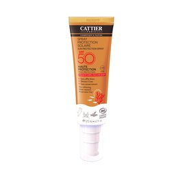 SPRAY PROTECTION SOLAIRE  SPF50 - CATTIER - Solaires