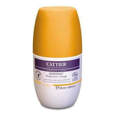 DÉODORANT ROLL-ON Fraîcheur agrume - CATTIER - Hygiène