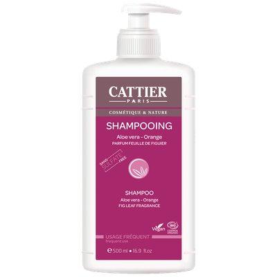 SHAMPOOING USAGE FRÉQUENT Sans sulfates - CATTIER - Cheveux