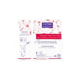 ANTI-AGEING  COTTON SHEET MASK - CATTIER - Face
