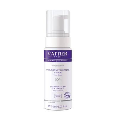 Mousse nettoyante visage - Nuage Céleste - CATTIER - Visage