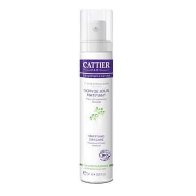 Soin de jour matifiant - Fleur d'Emulsion - CATTIER - Visage