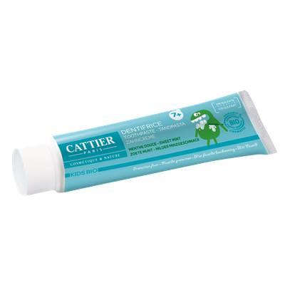 Dentifrice 7 ans et + Menthe - Kids Bio - CATTIER - Hygiène