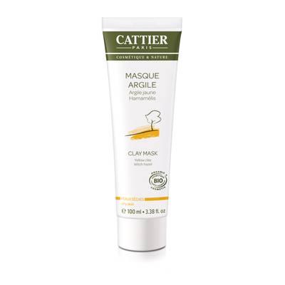 Masque argile jaune - CATTIER - Visage