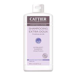 Shampooing extra-doux Usage quotidien - CATTIER - Cheveux
