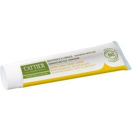 Dentargile Citron - Dentifrice reminéralisant à l'argile - CATTIER - Hygiène