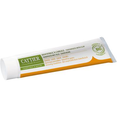 Dentargile Sauge - Remineralising toothpaste with clay - CATTIER - Hygiene