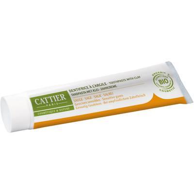 Dentargile Sauge - Dentifrice reminéralisant à l'argile - CATTIER - Hygiène