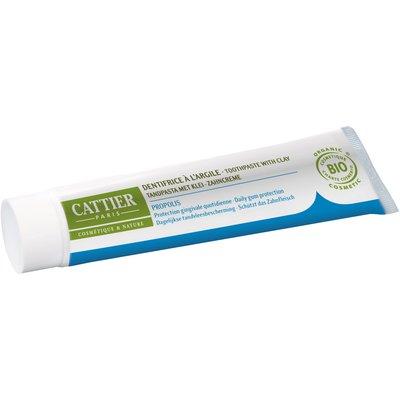 Dentargile Propolis - Dentifrice reminéralisant à l'argile - CATTIER - Hygiène