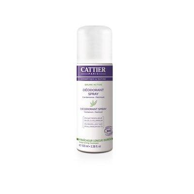 Déodorant spray - Brume Active - CATTIER - Hygiène