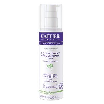 Gel nettoyant réequilibrant - Vague de Pureté  - CATTIER - Visage
