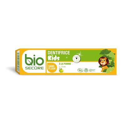 Dentifrice Kids pomme - Biosecure - Hygiène - Bébé / Enfants