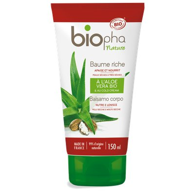 Baume riche au cold cream - Biopha Nature - Corps