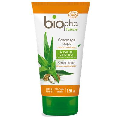 Gommage corps - Biopha Nature - Corps
