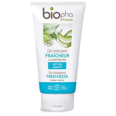Gel nettoyant fraîcheur - Biopha Nature - Visage