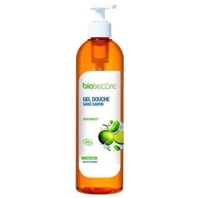 Gel douche sans savon bergamote - Biosecure - Hygiène